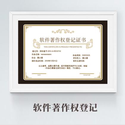 软件著作权登记(31-35个工作日,撰写软著文档)23420385592433890