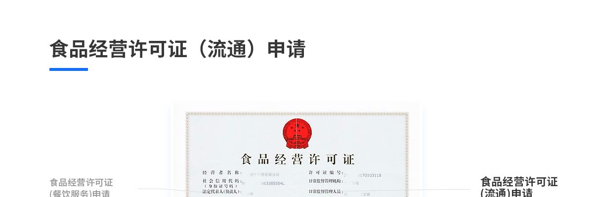 食品經營許可證(流通)申請(預包裝食品,零售)84445824872923600